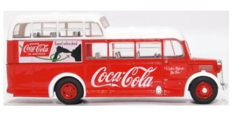 Miniatura Onibus Commer Commando Coca Cola 1/76 Oxford