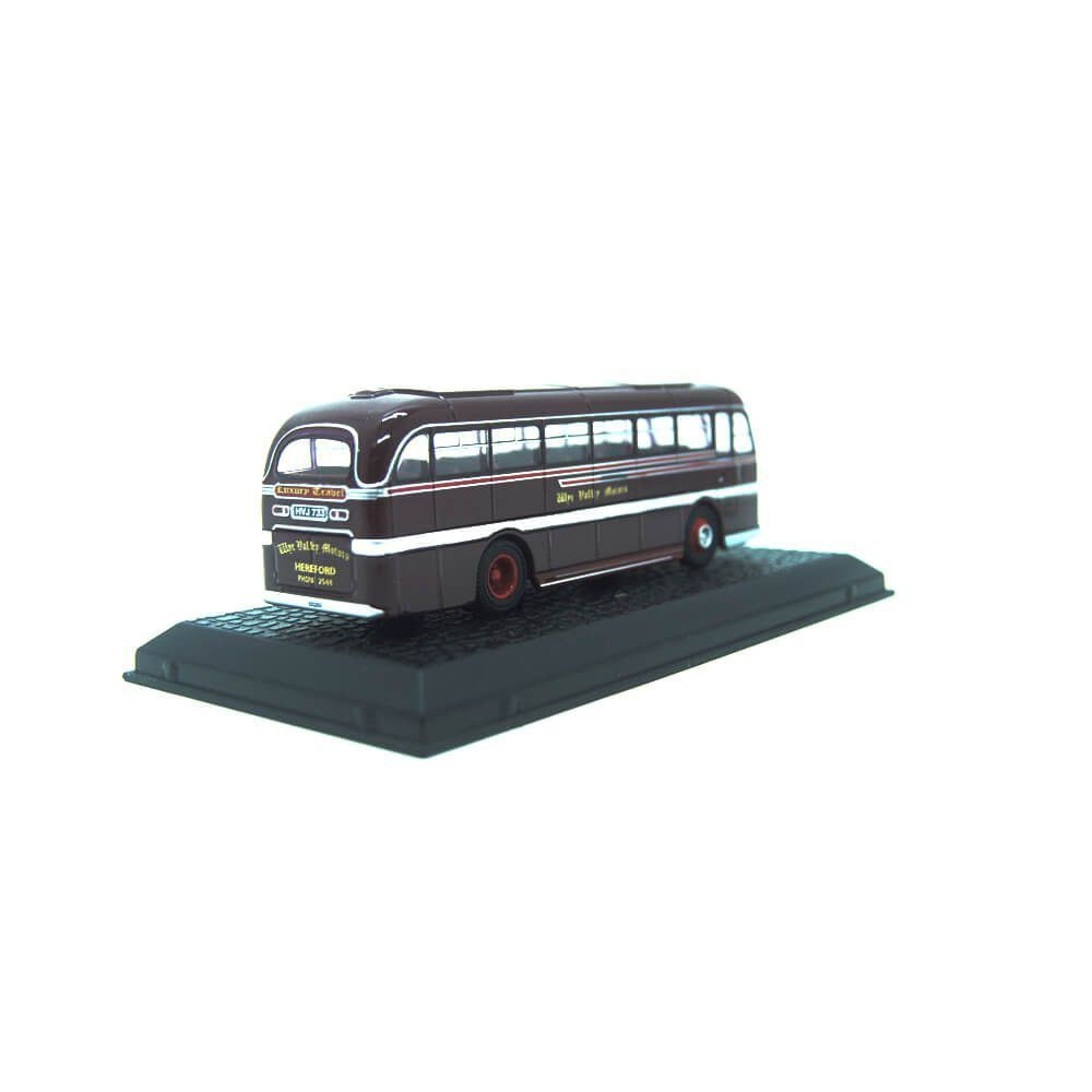 Miniatura Ônibus Duple Roadmaster Wye Valley Motors 1/76 Oxford