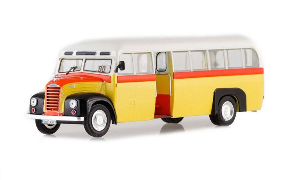 Miniatura Ônibus Ford Thames ET 07 1/43 Ixo Models Coleção Revista