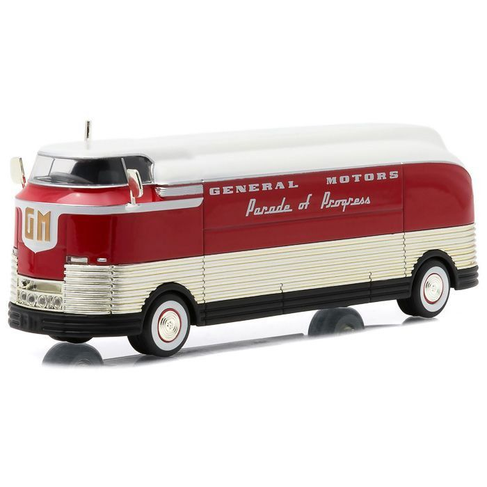 Miniatura Ônibus General Motors F Parade of Progress 1940 1/64 Greenlight