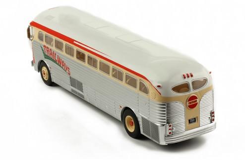 Miniatura Ônibus GMC PD  3751 1949 1/43 Ixo