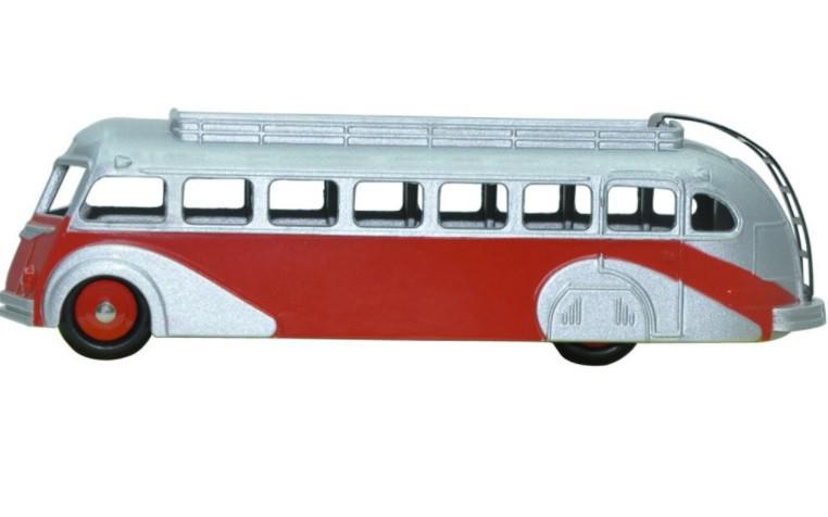 Miniatura Ônibus Isobloc Autocar 1/43 Dinky Toys