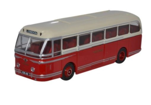 Miniatura Ônibus Leyland Royal Tiger Rhd North Wes 1/76 Oxford
