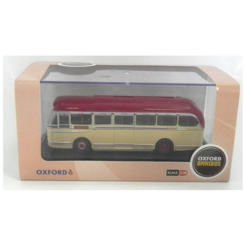 Miniatura Ônibus Leyland Royal Tiger Rhd Standerwick 1/76 Oxford