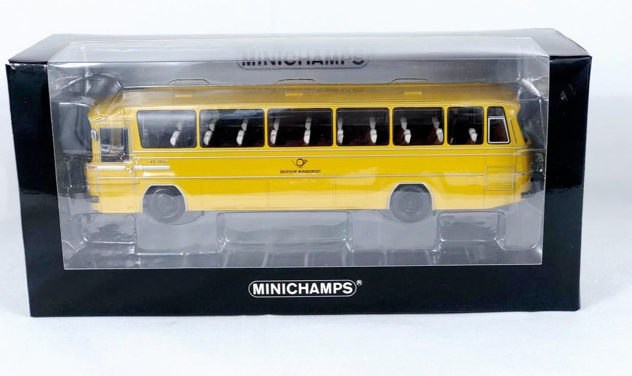 Miniatura Ônibus Mercedes Benz O 302 1695 1/43 Minichamps