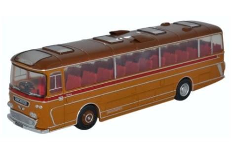 Miniatura Ônibus Plaxton Panorama Bere Regis & District 1/76 Oxford