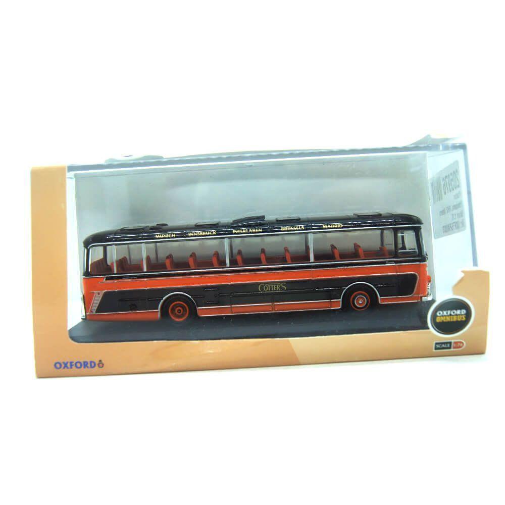 Miniatura Ônibus Plaxton Panorama Cotters 1/76 Oxford
