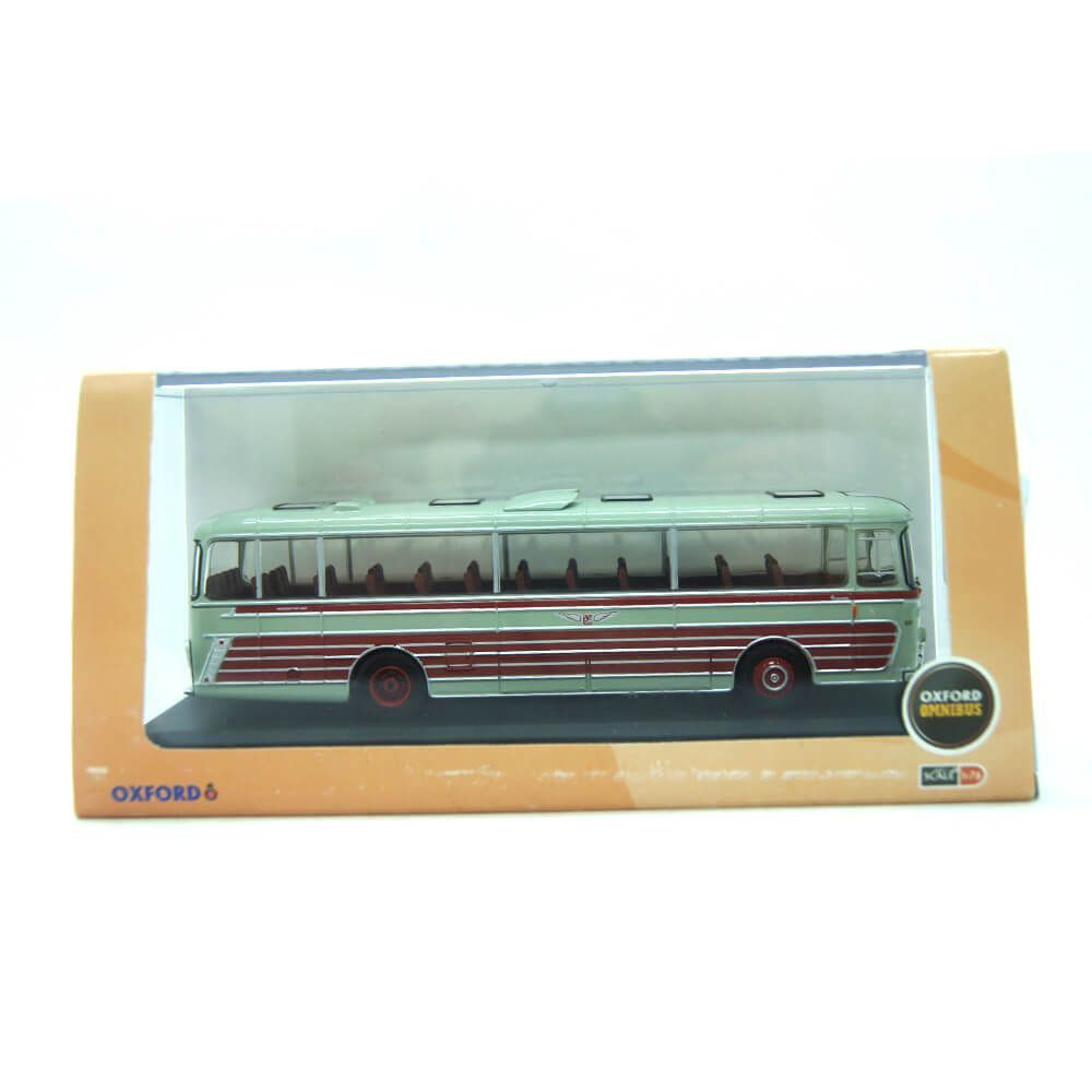 Miniatura Ônibus Plaxton Panorama Sheffield United Tours 1/76 Oxford