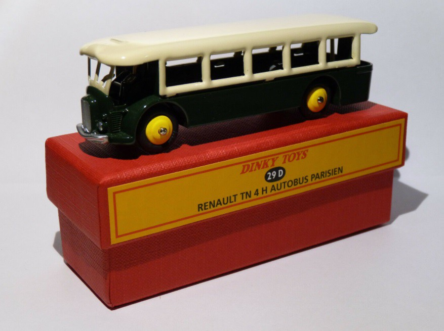 Miniatura Ônibus Renault TN 4H Autobus Paris  1/43 Dinky Toys