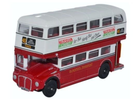 Miniatura Ônibus Routemaster Blackpool 1/76 Oxford