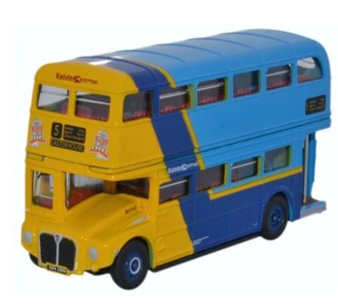 Miniatura Ônibus Routemaster Kelvin Scottish 1/76 Oxford