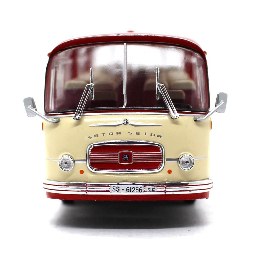 Miniatura Ônibus Setra S14 Autobus 1966 1/43 Ixo