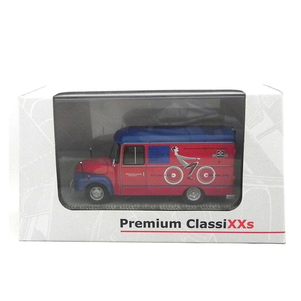 Miniatura Caminhão Opel Blitz 1,75 T Hercules 1952 1/43 Premium Classixxs