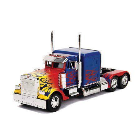 Miniatura Optimus Prime Transformers 1/24 Jada Toys