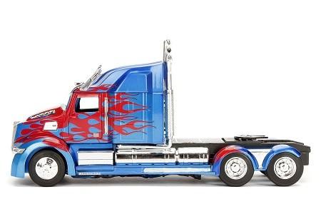 Miniatura Optimus Prime Transformers 5 1/24 Jada Toys