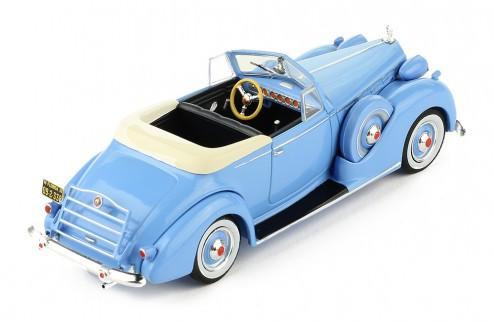 Miniatura Packard Victoria Conversível 1938 1/43 Ixo