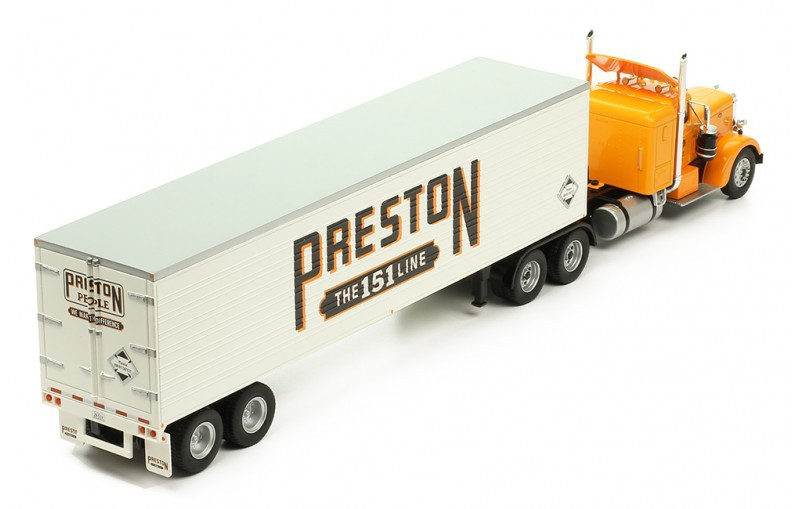 Miniatura Caminhão Peterbilt 350 Preston People 1952 1/43 Ixo