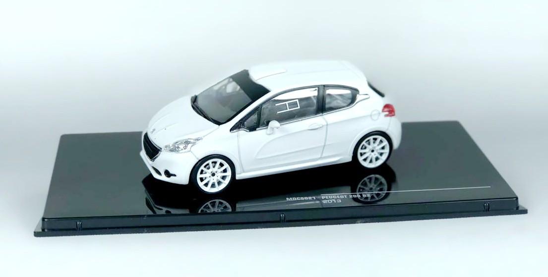 Miniatura Peugeot 208 R2 2013 1/43 Ixo