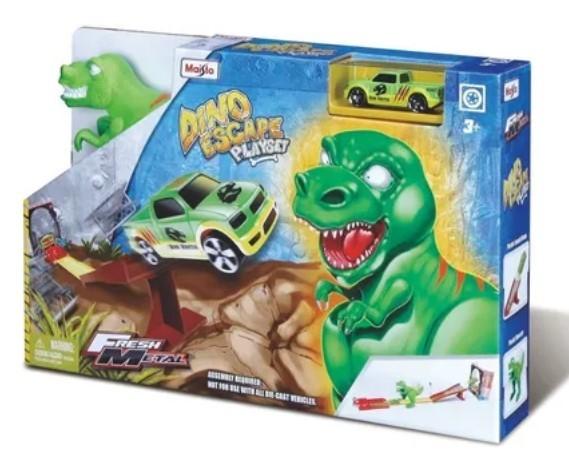 Miniatura Pista Dino Escape 1/64 Maisto