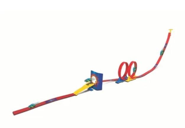 Miniatura Pista Double Loop Challenge 1/64 Maisto