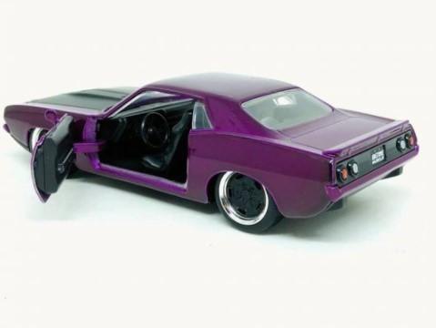 Miniatura Plymouth Barracuda 1973 1/32 Jada Toys