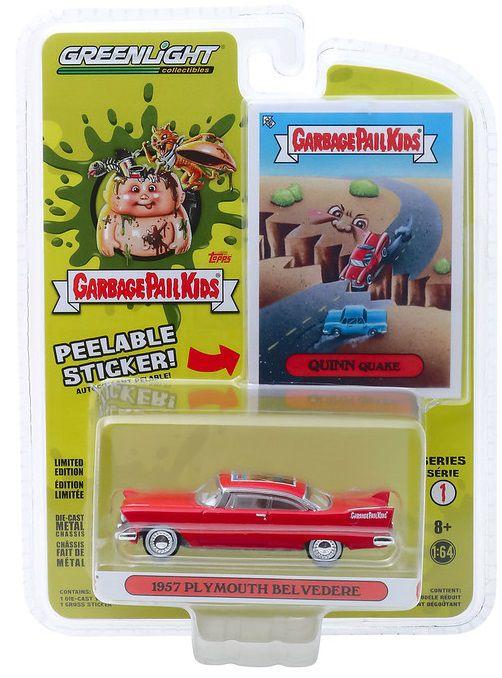 Miniatura Plymouth Belvedere Quinn Quake 1957 1/64 Greenlight