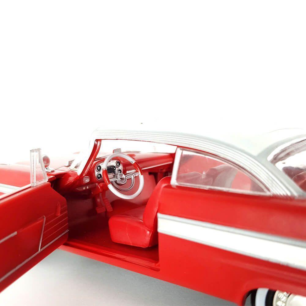 Miniatura Plymouth Fury 1958 Christine 1/24 Greenlight Hollywood