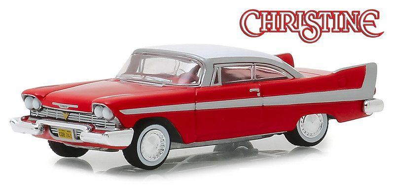 Miniatura Plymouth Fury 1958 Christine 1/64 Greenlight