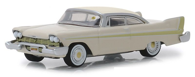 Miniatura Plymouth Fury 1958 Mecum Auctions 1/64 Greenlight