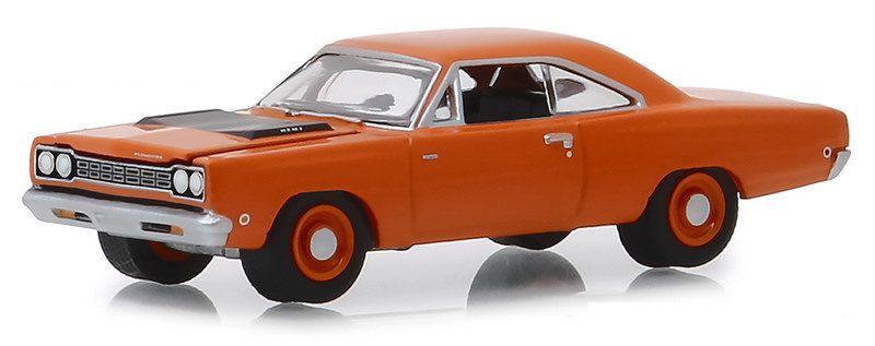 Miniatura Plymouth Hemi Road Runner 1968 1/64 Greenlight