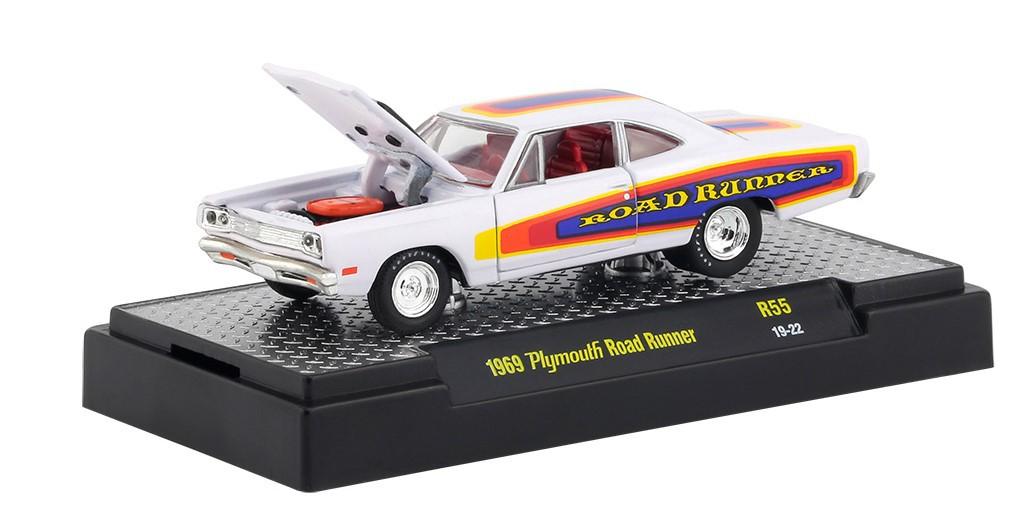 Miniatura Plymouth Road Runner 1969 1/64 M2