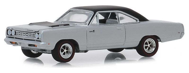 Miniatura Plymouth Road Runner Hemi 1968 GL Muscle 1/64 Greenlight