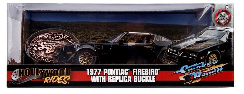 Miniatura Pontiac Firebird 1977 Smokey & Bandit 1/24 Jada Toys