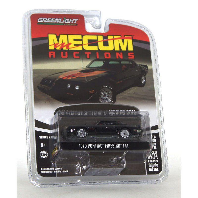 Miniatura Pontiac Firebird T/A 1979 Mecum Auctions 1/64 Greenlight