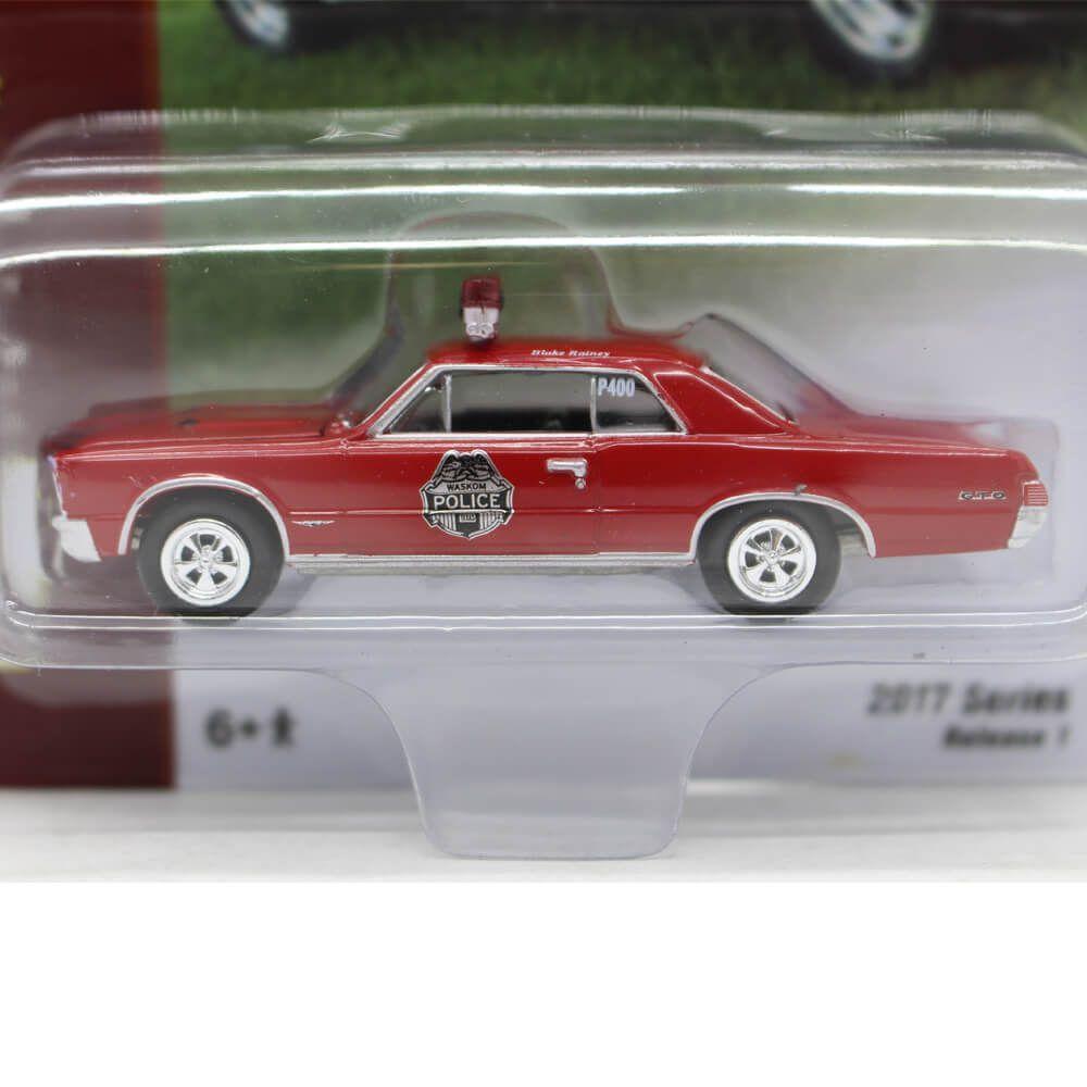 Miniatura Pontiac GTO 1965 Blake Rainey's Classic Gold A 1/64 Johnny Lightning