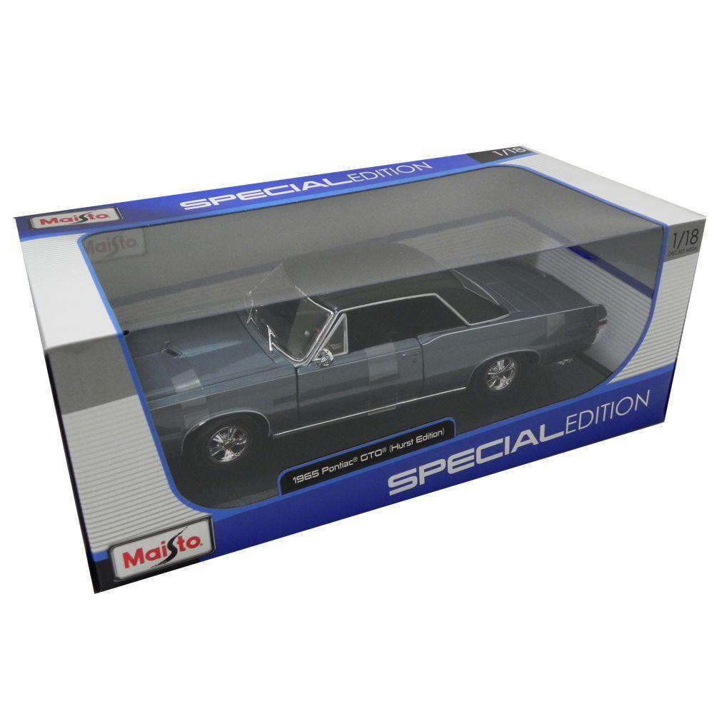 Miniatura Pontiac Gto 1965 Hurst Edition 1/18 Maisto Special Edition