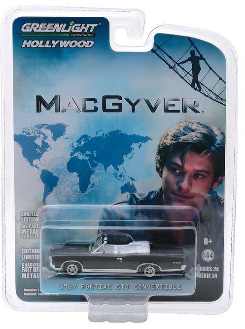 Miniatura Pontiac GTO 1967 MacGyver 1/64 Greenlight
