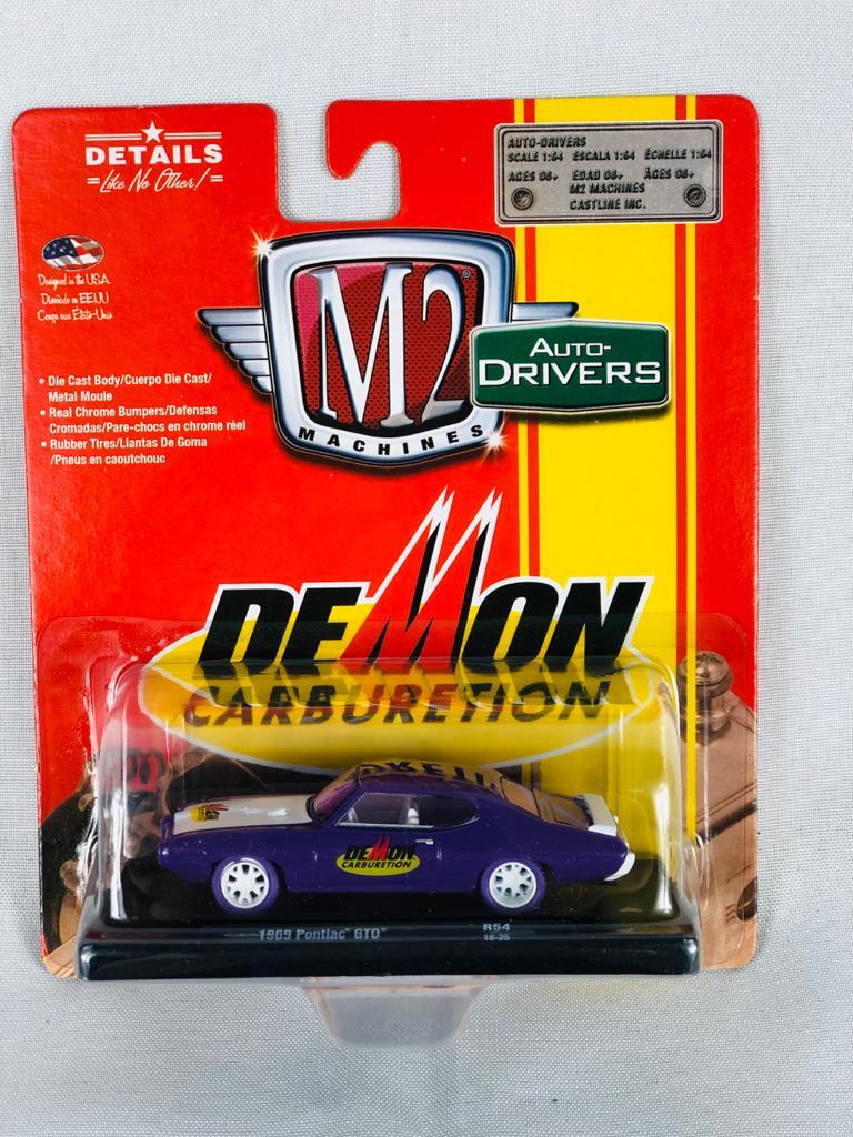 Miniatura Pontiac GTO 1969 1/64 M2 Chase