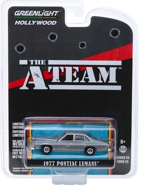 Miniatura Pontiac LeMans 1977 Esquadrão Classe A 1/64 Greenlight