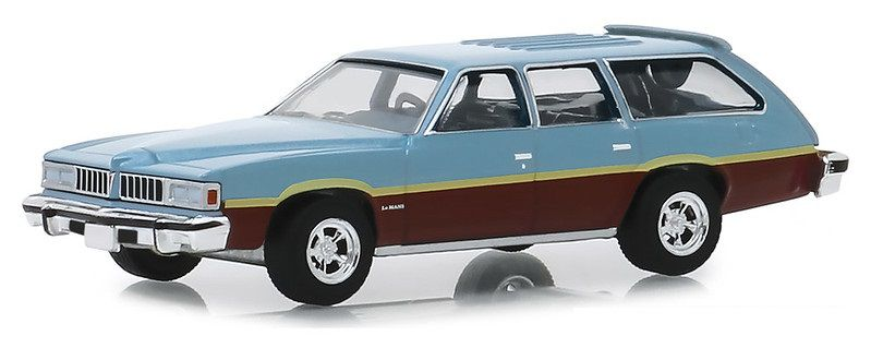 Miniatura Pontiac LeMans 1977 Estate Wagon 1/64 Greenlight