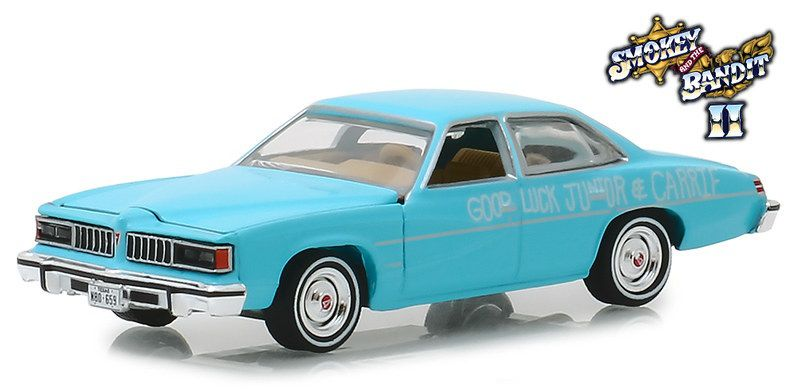 Miniatura Pontiac LeMans 1977 Smokey & The Bandit II 1/64 Greenlight