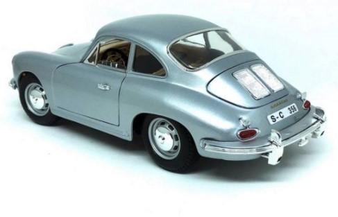 Miniatura Porsche 356 Coupe 1961 1/18 Bburago