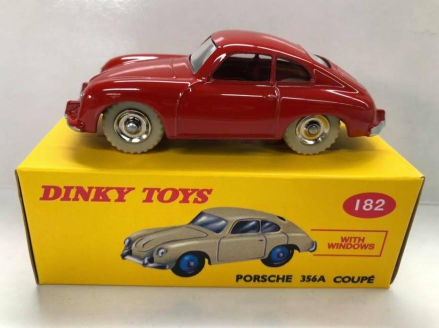 Miniatura Porsche 356A Coupe 1/43 Dinky Toys