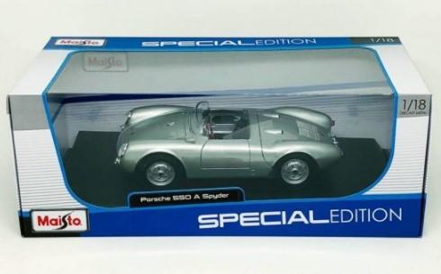 Miniatura Porsche 550 A Spyder 1/18 Maisto