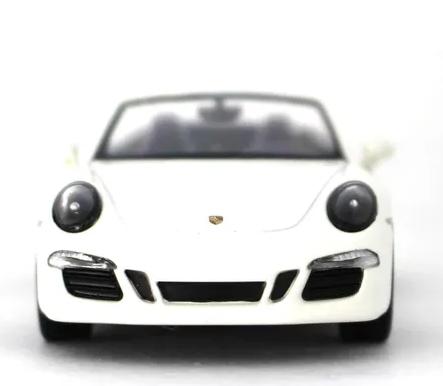 Miniatura Porsche 911 Carrera Gts Cabriolet Branco 1/43 Schuco