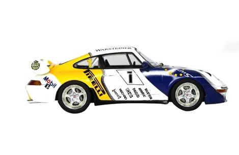 Miniatura Porsche 911 Cup Vip 1996 Supercup 1/43 Schuco