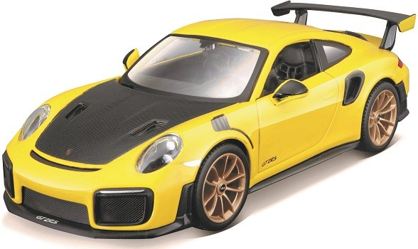 Miniatura Porsche 911 GT2 RS Kit Em Metal 1/24 Maisto