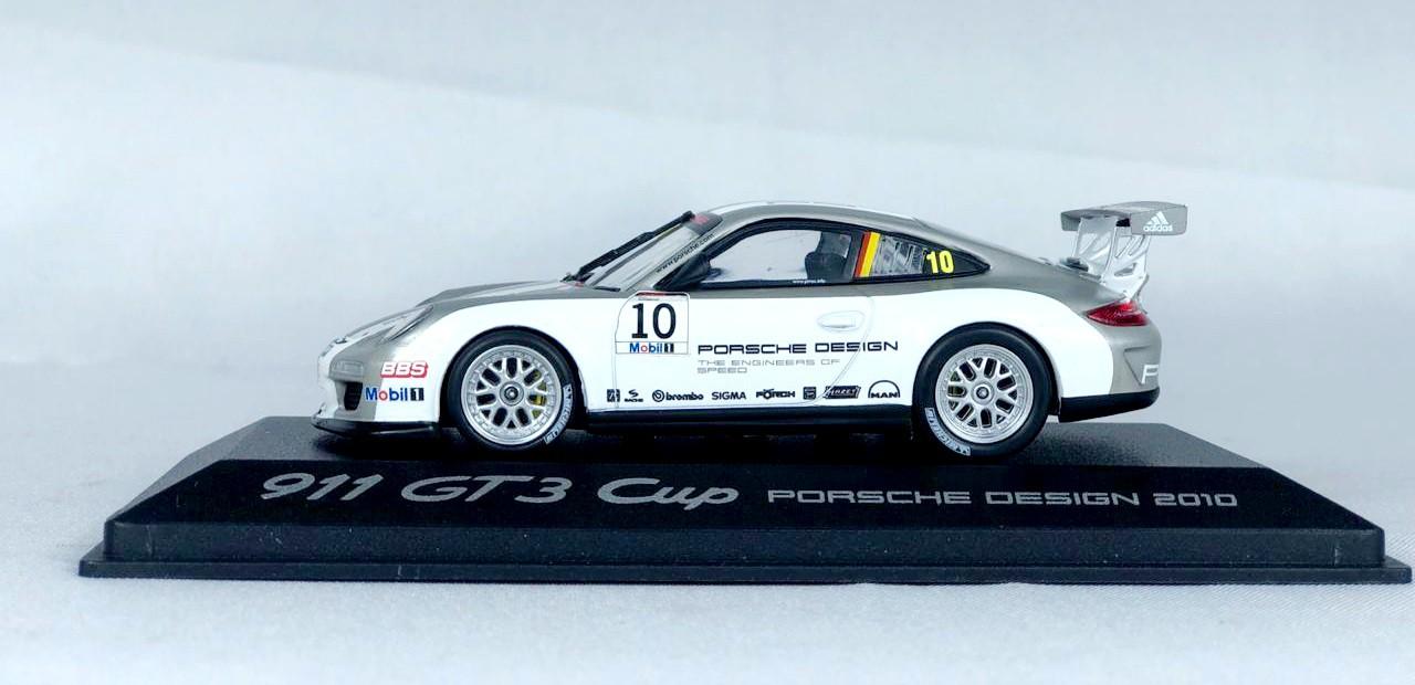 Miniatura Porsche 911 GT3 Cup Porsche Design 1/43 Minichamps