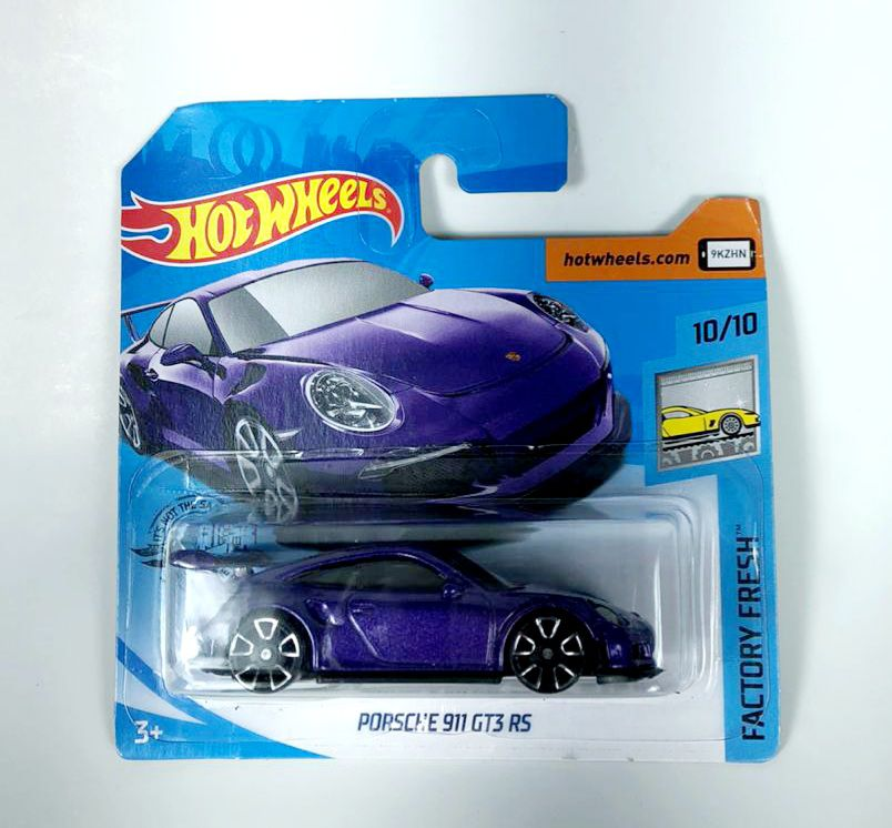 Miniatura Porsche 911 GT3 RS 1/64 Hot Wheels
