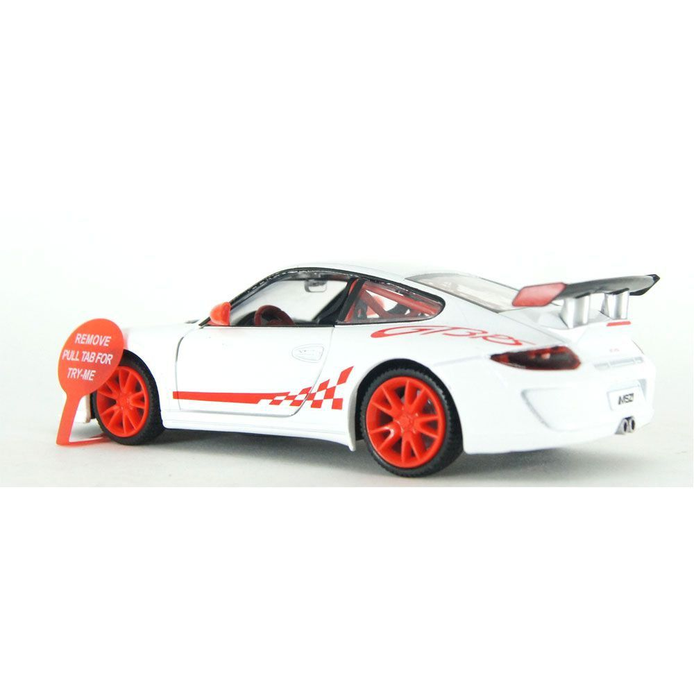 Miniatura Porsche 911 GT3 RS Luz e Som 1/32 California Action